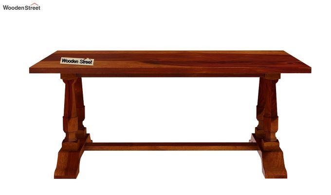 Redigo Dining Table (Honey Finish)-5