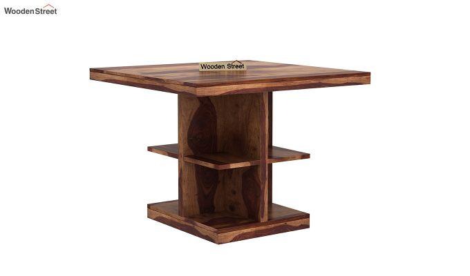 Regal 2 Seater Dining Table (Teak Finish)-2