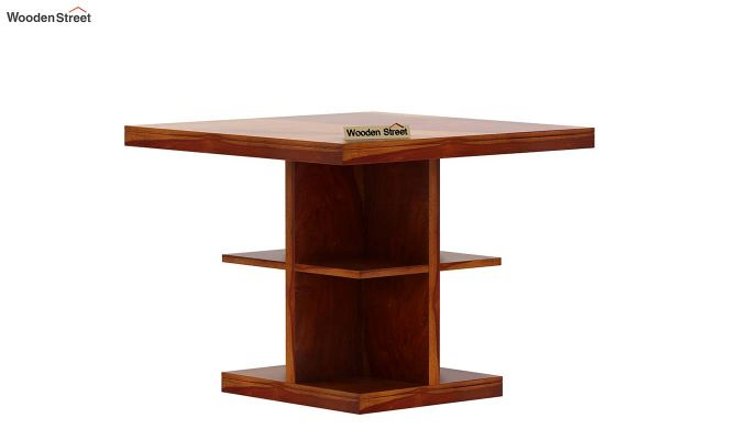 Regal 4 Seater Dining Table (Honey Finish)-4