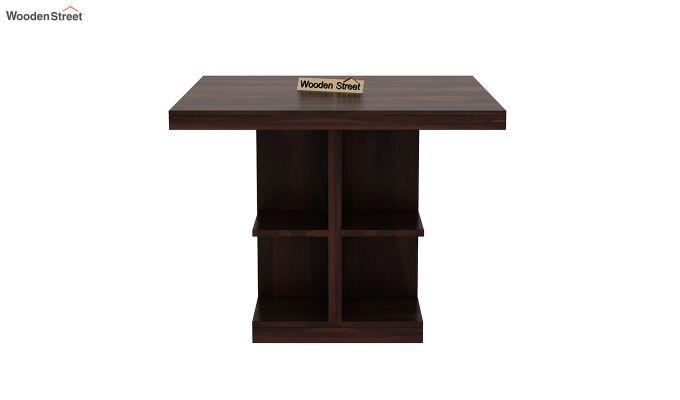 Regal 4 Seater Dining Table (Walnut Finish)-3