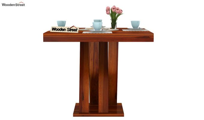 Roby Dining Table (Honey Finish)-3