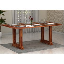 Rusler 6 Seater Dining Table