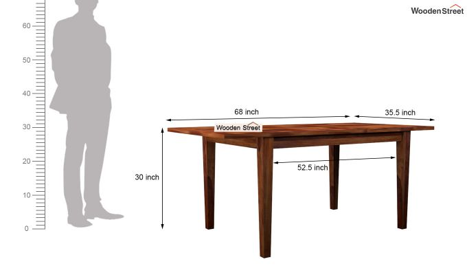 Buy Tim Extendable Dining Table Online In India Wooden
