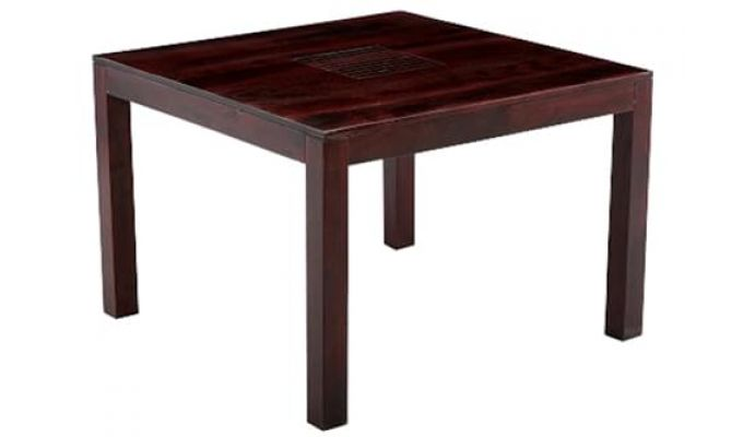 Tracy Dining Table (Mahogany Finish)-3
