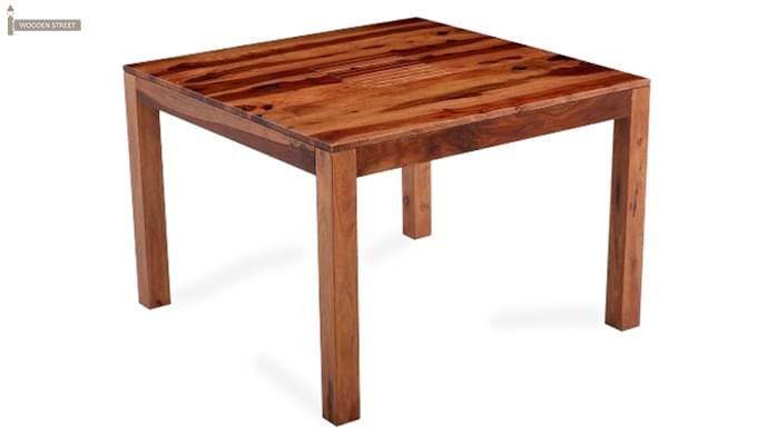 Tracy Dining Table (Teak Finish)-4