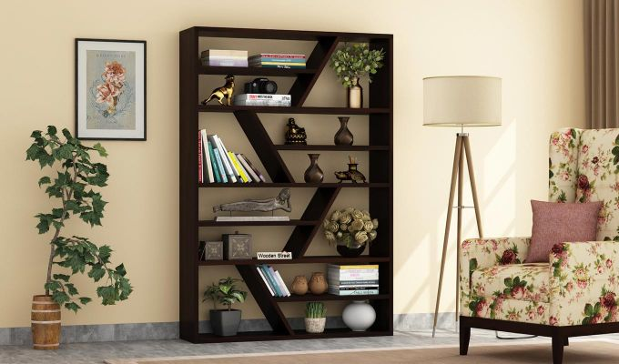 Barrett Display Unit (Walnut Finish)-1