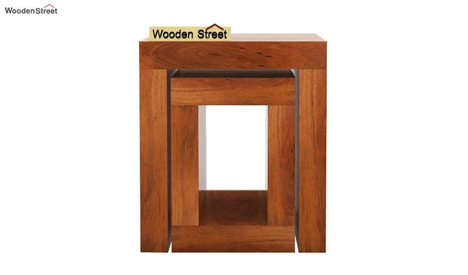 Bolin Display Cabinet (Honey Finish)-4