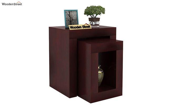Bolin Display Cabinet (Mahogany Finish)-1