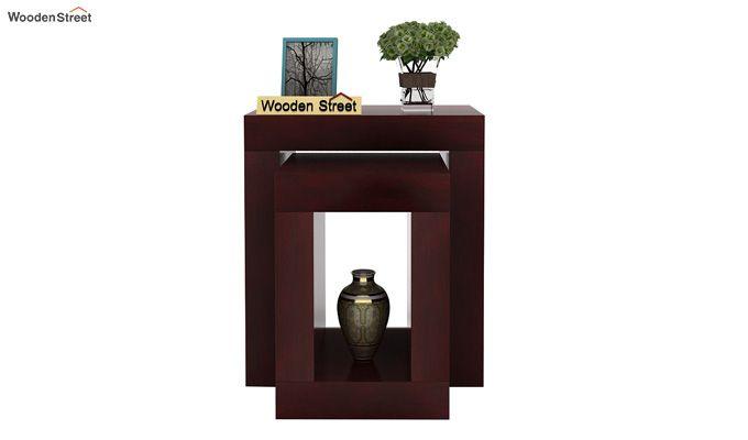 Bolin Display Cabinet (Mahogany Finish)-2