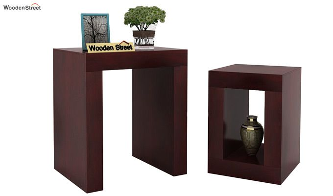 Bolin Display Cabinet (Mahogany Finish)-3