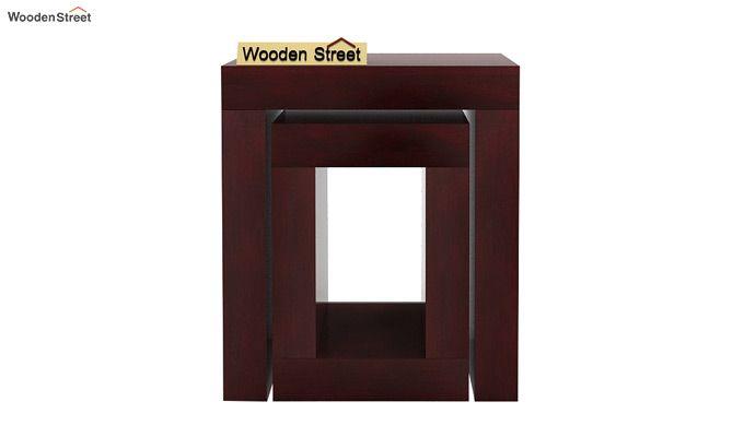 Bolin Display Cabinet (Mahogany Finish)-4