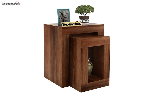 Bolin Display Cabinet (Teak Finish)-2