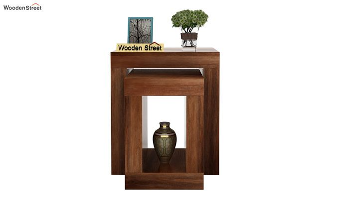 Bolin Display Cabinet (Teak Finish)-3