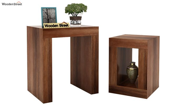 Bolin Display Cabinet (Teak Finish)-4