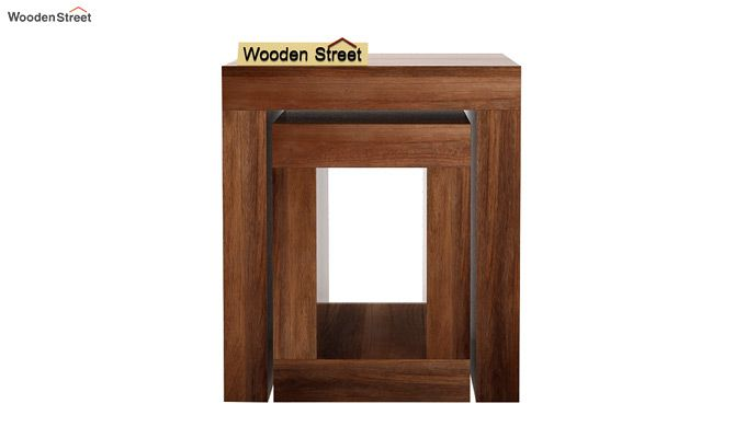 Bolin Display Cabinet (Teak Finish)-5