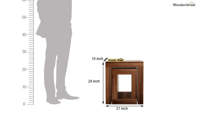 Bolin Display Cabinet (Teak Finish)-6