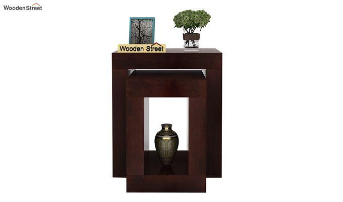 Bolin Display Cabinet (Walnut Finish)-2