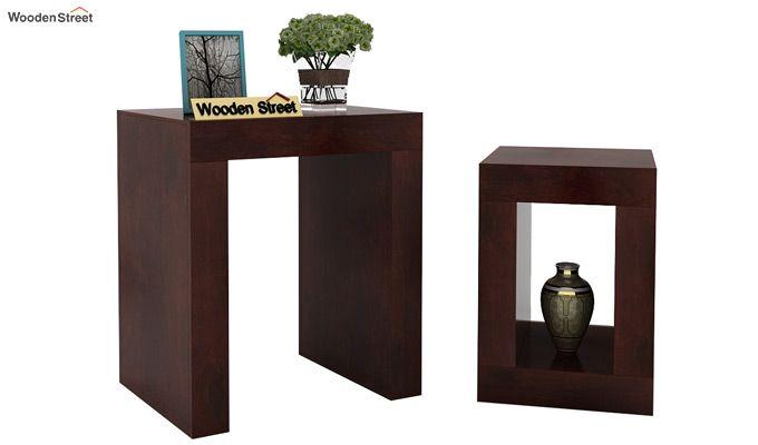 Bolin Display Cabinet (Walnut Finish)-3