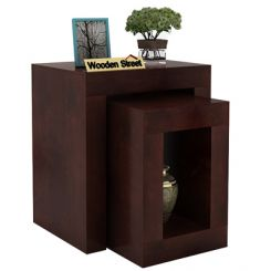 Bolin Display Cabinet (Walnut Finish)