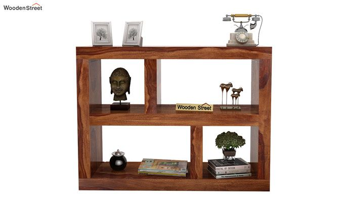Calder Display Unit (Teak Finish)-2