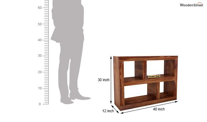 Calder Display Unit (Teak Finish)-5