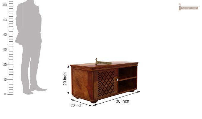 Cambrey Display Unit (Honey Finish)-6