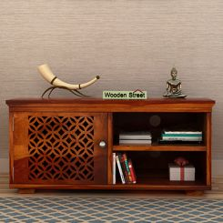 Cambrey Display Unit (Honey Finish)