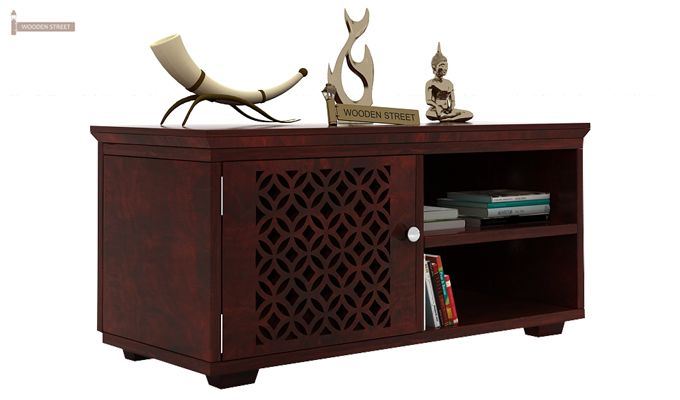 Cambrey Display Unit (Mahogany Finish)-1