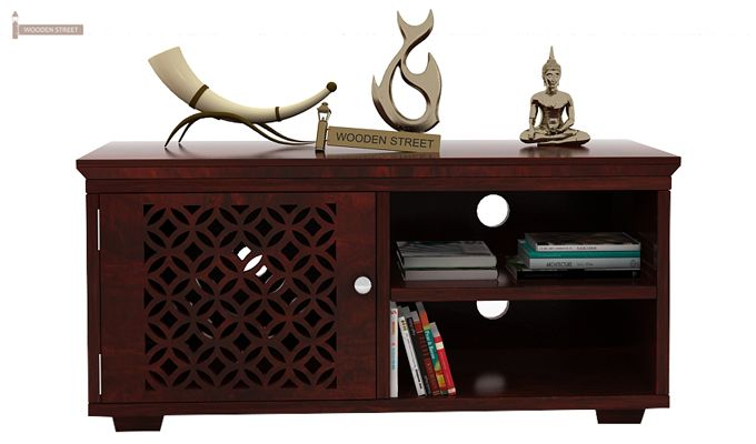Cambrey Display Unit (Mahogany Finish)-2