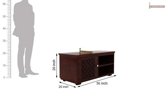 Cambrey Display Unit (Mahogany Finish)-5