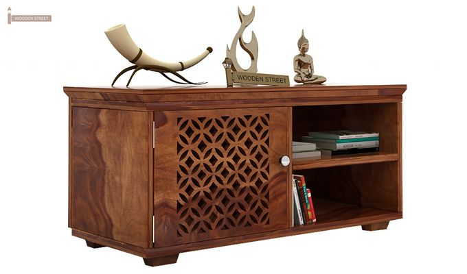 Cambrey Display Unit (Teak Finish)-1