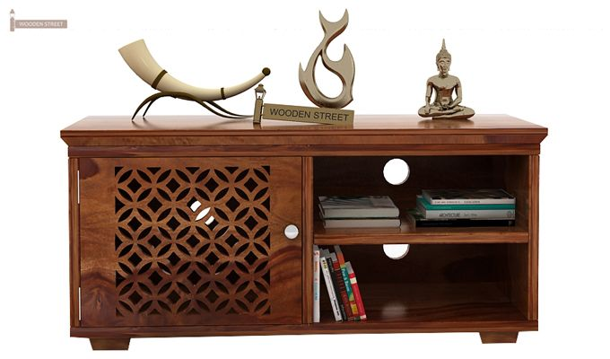 Cambrey Display Unit (Teak Finish)-2