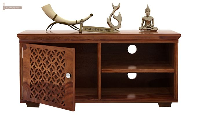 Cambrey Display Unit (Teak Finish)-3