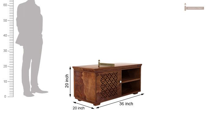 Cambrey Display Unit (Teak Finish)-5