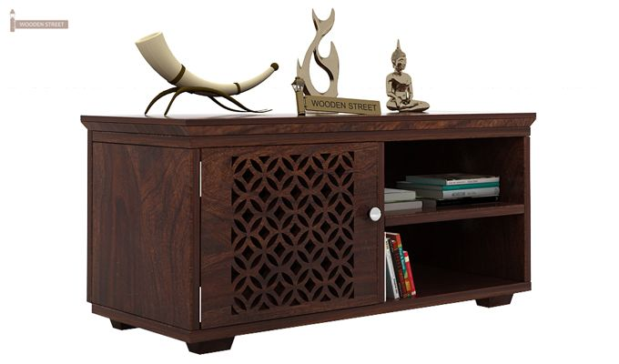 Cambrey Display Unit (Walnut Finish)-1