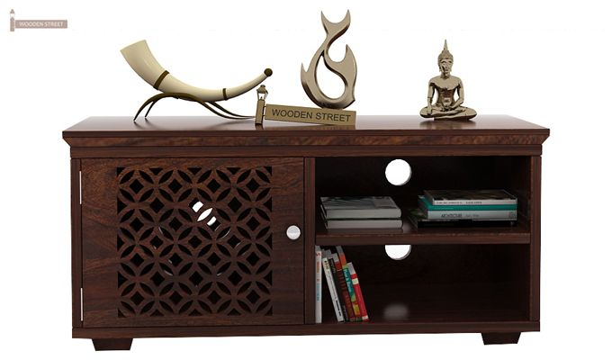Cambrey Display Unit (Walnut Finish)-2