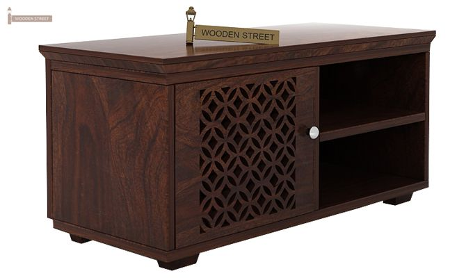 Cambrey Display Unit (Walnut Finish)-4