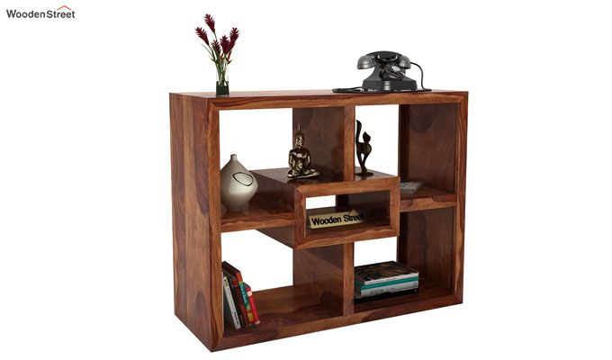 Cindy Display Unit (Teak Finish)-1