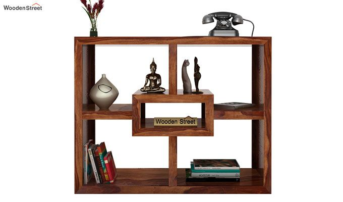 Cindy Display Unit (Teak Finish)-2