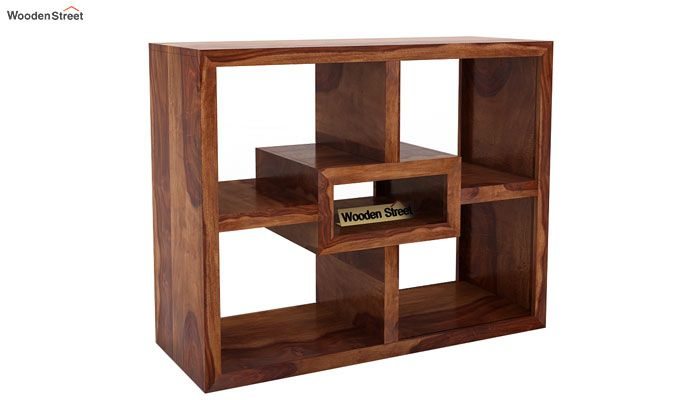Cindy Display Unit (Teak Finish)-3