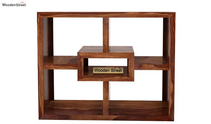 Cindy Display Unit (Teak Finish)-4