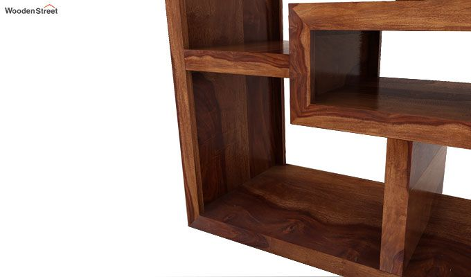 Cindy Display Unit (Teak Finish)-5