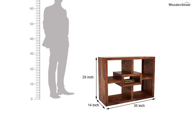 Cindy Display Unit (Teak Finish)-6