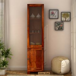 Crispin Display Unit (Honey Finish)