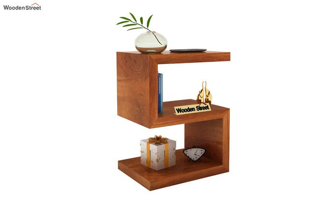Frank Display Cabinet (Honey Finish)-1