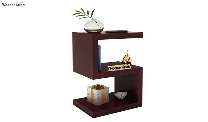 Frank Display Cabinet (Mahogany Finish)-1