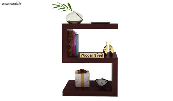 Frank Display Cabinet (Mahogany Finish)-2