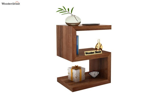 Frank Display Cabinet (Teak Finish)-1