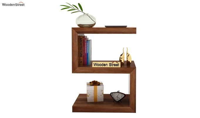 Frank Display Cabinet (Teak Finish)-2