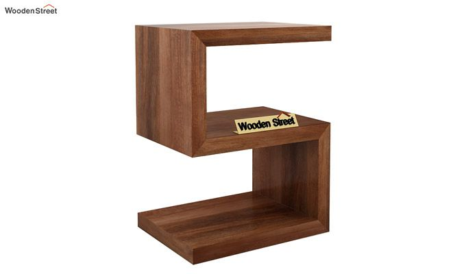 Frank Display Cabinet (Teak Finish)-3